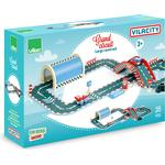 Wood - Car Track Set Vilac Vilacity Big Race 36Pcs