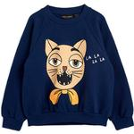 Baby - Sweatshirts Children's Clothing Mini Rodini Cat Choir Sweatshirt - Dark Blue (2072017267)
