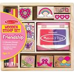 Creativity Sets - Wood Melissa & Doug Friendship Stamp Set