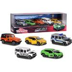 Police - Car Majorette SUV 5 Pieces Giftpack