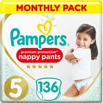 Pampers Premium Protection Nappy Pant Size 5