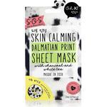 Sheet Mask - Activated Charcoal Oh K! SOS Calming Dalmatian Print Mask