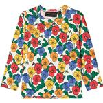 T-shirts - 6-9M Children's Clothing Mini Rodini Violas Long Sleeve T-shirt - Multicolor (2072014100)