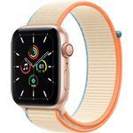 Apple Watch SE Cellular 44mm Aluminium Case with Sport Loop