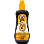 Self Tan - Water Resistant Australian Gold Spray Oil Sunscreen Carrot Oil Formula SPF6 237ml