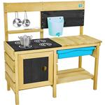 FSC - Role Playing Toys TP Toys Deluxe Wooden Mud Kitchen