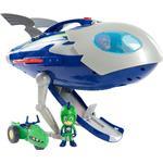 Toy Spaceship - Plasti Dickie Toys PJ Masks Moon Rocket