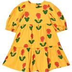 Ruffled Dresses - Baby Children's Clothing Mini Rodini Violas Puff Dress - Yellow (2075010023)