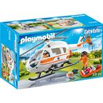 Toy Helicopter Playmobil Rescue Helicopter 70048