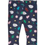 Print - Trousers Children's Clothing Frugi Libby Printed Leggings - Hedgehogs (LEA004HDG)
