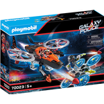 Outer Space - Play Set Playmobil Galaxy Police Pirates Helicopter 70023