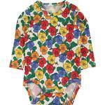 Multicolour - Bodysuits Children's Clothing Mini Rodini Violas Long Sleeve Body - Multi (2074013500)