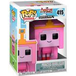 Princesses - Figurines Funko Pop! Television Adventure Time Minecraft Princess Bubblegum
