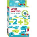 Magnetic Figures - Plasti Smoby Magnetic Numbers 48pcs