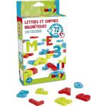 Magnetic Figures - Plasti Smoby Magnetic Letters & Numbers 72pcs