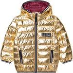 PFC-FREE impregnation - Winter Jacket Children's Clothing Molo Hao - Golden (5W20M318 8229)