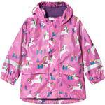 Rain jackets - 18-24M Children's Clothing Frugi Puddle Buster Coat - Unicorn Puddles (RCA001UNP)