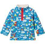 Sweatshirts - Press-Studs Children's Clothing Frugi Little Snuggle Fleece - Climb A Rainbow (JUS004CAR)