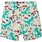 Shorts - Buttons Children's Clothing Frugi Reuben Reversible Shorts - City Stomp (SHS008CTS)