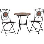 Café Group Outdoor Furniture vidaXL 279691 Café Group, 1 Table inkcl. 2 Chairs