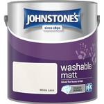 Johnstones Washable Wall Paint, Ceiling Paint White 2.5L