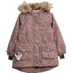 PFC-FREE impregnation - Winter Jacket Children's Clothing Wheat Mathilde Tech Jacket - Rose Flowers