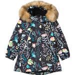 Winter Jacket Children's Clothing Reima Kid's Muhvi Winter Jacket - Black (521642-9996)
