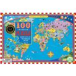 Eeboo World Map 100 Pieces