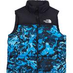 The North Face 1996 Retro Nuptse Down Vest - Clear Lake Blue Himalayan Camo Print