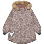 Jackets Children's Clothing Wheat Mathilde Tech Jacket - Blue Mirage Flowers