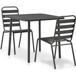 Café Group Outdoor Furniture vidaXL 44261 Café Group, 1 Table inkcl. 2 Chairs