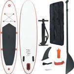 vidaXL Inflatable SUP Surfboard Set 330cm