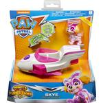 Toy Airplane Spin Master Paw Patrol Mighty Pups Super Paws Skye Deluxe Vehicle