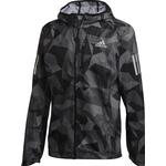 Adidas Own the Run Camo Jacket Men - Metal Grey/Grey Four/Black