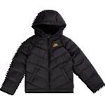 Nike Older Kid's Fill Jacket - Black/Black/Black/Metallic Gold (CU9157-014)