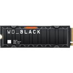 Western Digital Black SN850 NVMe SSD with Heatsink 2TB