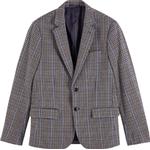 Blazers Men's Clothing Scotch & Soda Single-Breasted Cotton Check Blazer - Combo B