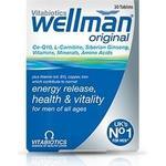 Vitabiotics Wellman Original 30 pcs