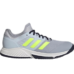 Adidas Court Team Bounce - Halo Silver/Hi-Res Yellow/Halo Blue