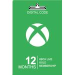 Microsoft Xbox Live Gold Card - 12 Months