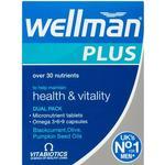 Vitabiotics Wellman Plus Omega 3-6-9 56 pcs