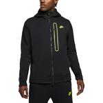 Nike Tech Fleece Full-Zip Hoodie Men - Black/Volt