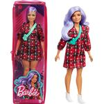 Mattel Barbie Fashionistas Doll Plaid Dress