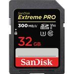 SanDisk Extreme Pro SDHC Class 10 UHS-II U3 V90 300MB/s 32GB