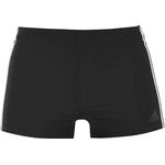 Adidas 3-Stripes Swim Boxers - Black/White