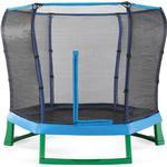 Plum Junior Jumper Trampoline 220x220cm + Safety Net