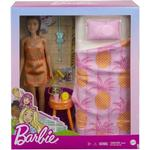Mattel Barbie Doll with Bedroom GRG86