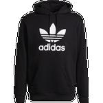 Adidas Adicolor Classics Trefoil Hoodie - Black/White