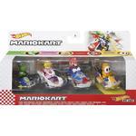 Hot Wheels Mario Kart 4 Pack