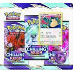 Pokémon Sword & Shield 6 Chilling Reign 3 Pack Blister